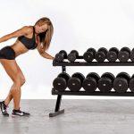 Как подобрать вес гантели