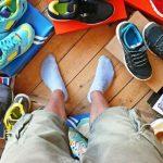 В каких кроссовках ноги не потеют?