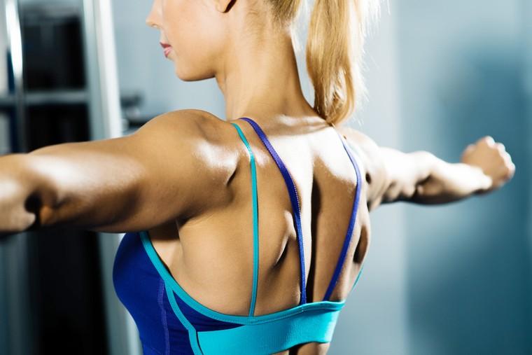 как сделать красивые плечи