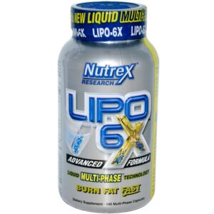 Lipo-6X (240 Multi-Phase Caps)