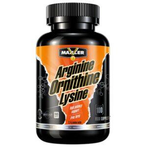 Комплекс аминокислот (Maxler Arginine Ornithine Lysine MXL 100 caps)
