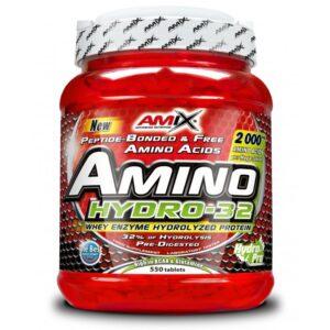Комплекс аминокислот на основе гидролизата (Amix Amino HYDRO-32 550 tabs)
