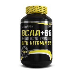 Аминокислотный комплекс BioTech USA BCAA + B6 (340 tabs)