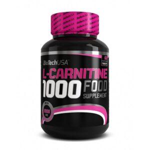Карнитин BioTech USA LCarnitine 1000 (60 tabs)
