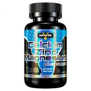 Минеральный комплекс Maxler Calcium Zinc Magnesium (90 tabs)