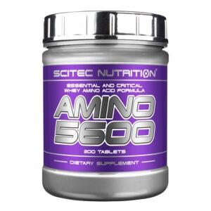 Аминокислотный комплекс Scitec Nutrition Amino 5600 (200 tabs)