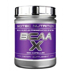 Аминокислоты Scitec Nutrition BCAAX (330 caps)