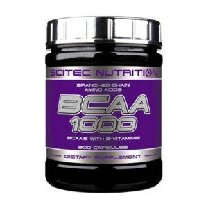 Аминокислоты Scitec Nutrition BCAA 1000 (300 caps)